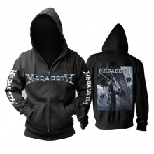 Quality United States Megadeth Hoodie Metal Music Sweat Shirt