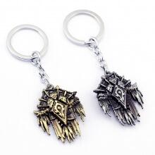 Quality World of Warcraft Horde Logo Keychain
