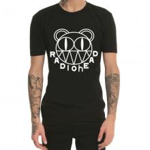 Radio Head Rap Rap Heavy Metal Rock T-Shirt Black