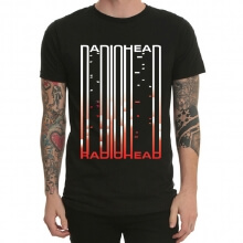 Radio Head Rock T-Shirt Black