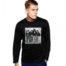The Ramones Long Sleeve T-Shirt American Rock Music Team Tee