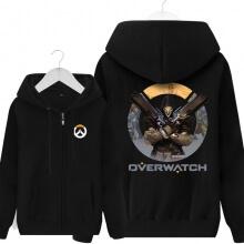 Reaper Overwatch Merch Mens Black Hoodies