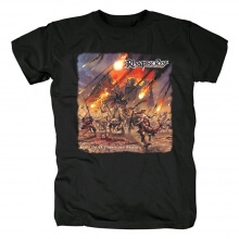 Rhapsody Band Rain Of A Thousand Flames Tees Italy Metal T-Shirt