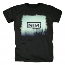 Rock Graphic Tees Personalised Nine Inch Nails Band With Teeth T-Shirt