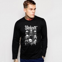 Rock Music Team Slipknot Long Sleeve Tshirt
