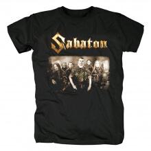 Sabaton T-Shirt Sweden Hard Rock Black Metal Shirts