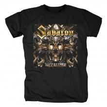 Sabaton Tee Shirts Sweden Hard Rock Black Metal T-Shirt