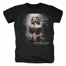 Septic Flesh Tshirts Greece Hard Rock Band T-Shirt