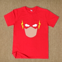 Sheldon The Flash Short Sleeve Tee Superhero Tees For Men