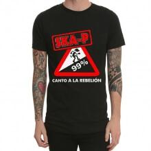 Ska P Heavy Metal Rock T-Shirt Black