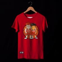 Slam Dunk Miyagi Ryota and Hanamichi Sakuragi T Shirt