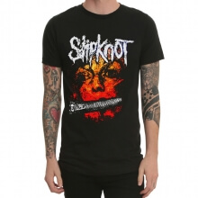 Slipknot Band Rock Print T-Shirt