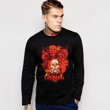 Slipknot T-Shirt Rock Music Team  Long Sleeve Tee