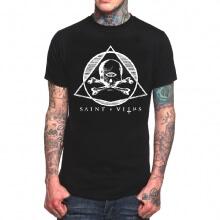 St Vitus Band Rock T-Shirt Black Heavy Metal Tee