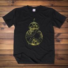 Star Wars The Force Awakens BB8 Robots T-shirt
