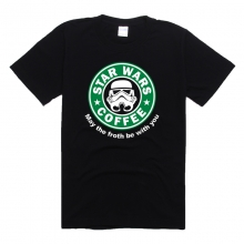 StarWars Darth Vader Character Tshirt Black Cotton Tee