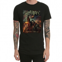 Suffocation T-Shirt Black Mens Tee