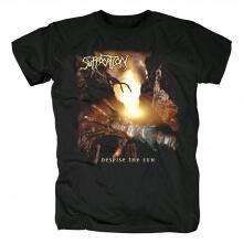 Suffocation T-Shirt Us Black Metal Punk Rock Band Shirts