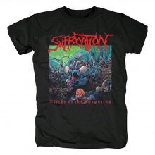Suffocation T-Shirt Us Black Metal Punk Rock Shirts