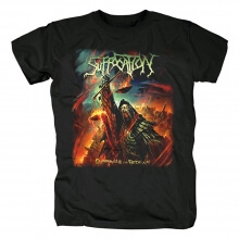 Suffocation Tee Shirts Us Hard Rock Band T-Shirt