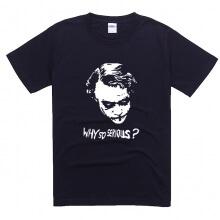 Summer Batman Joker Why So Serious Tshirt 100% Cotton