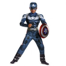 Superhero Captain American Costumes Boys Movie Cosplay Clothes Kids Halloween