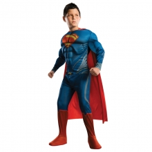 Superman Cosplay Costume Kids Halloween Costumes Children Superhero Clothing