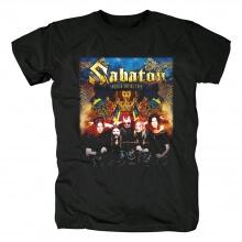 Sweden Black Metal Graphic Tees Sabaton T-Shirt