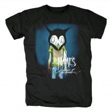 Sweden In Flames T-Shirt Metal Rock Shirts