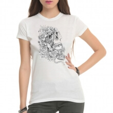 Tattoo Rock White T-Shirts for Women