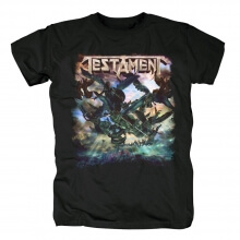 Testament The Formation Of Damnation T-Shirt Metal Rock Band Graphic Tees