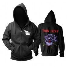 Thin Lizzy Black Rose Hoody Ireland Rock Hoodie