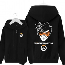 Tracer Hooded Sweatshirt Merch Gifts For Overwatch Fans