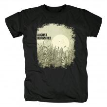 Ugust Burns Red Band T-Shirt Hard Rock Metal Shirts