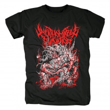 Unfathomable Ruination Band Tees Uk Hard Rock T-Shirt