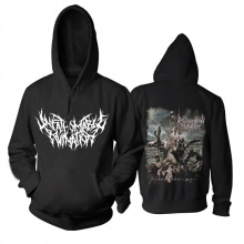 Unfathomable Ruination Hoodie Uk Hard Rock Band Sweatshirts