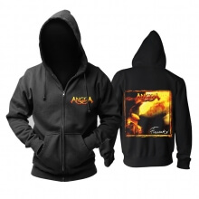 Unique Angra Arising Thunder Hooded Sweatshirts Brazil Metal Music Hoodie