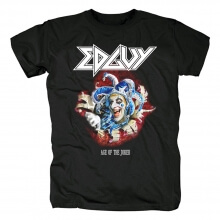 Unique Edguy Age Of The Joker T-Shirt Metal Rock Shirts