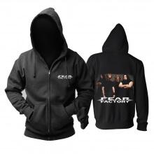 Unique Fear Factory Hoodie Metal Punk Sweat Shirt