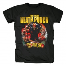 Unique Five Finger Rock T-Shirt Death Punch Got Your Six Dateback Tee Shirts