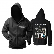 Unique Hollywood Undead Day Of The Dead Hoodie Metal Rock Sweat Shirt