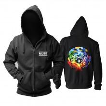 Unique Muse Brit-Pop Hooded Sweatshirts Uk Metal Rock Band Hoodie