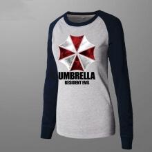 Unique Resident Evil Umbrella Long Sleeve Women Tee Shirt