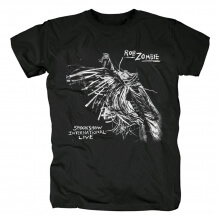 Unique Rob Zombie Spookshow International Live T-Shirt Metal Rock Graphic Tees