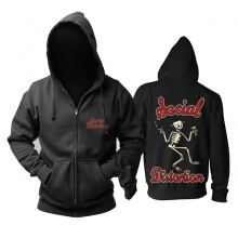 Unique Social Distortion Hoodie California Metal Punk Rock Band Sweatshirts