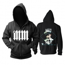 Unique Us Marilyn Manson Hoodie Metal Rock Sweat Shirt