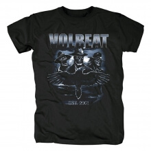 Unique Volbeat Outlaw Raven Tees Denmark Country Music Punk Rock T-Shirt