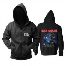 United Kingdom Iron Maiden Hoodie Metal Rock Band Sweat Shirt