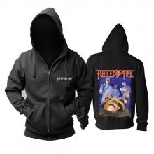 Us Fueled By Fire Hoodie Metal Punk Rock Sweat Shirt