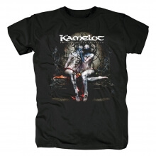 Us Kamelot T-Shirt Metal Graphic Tees